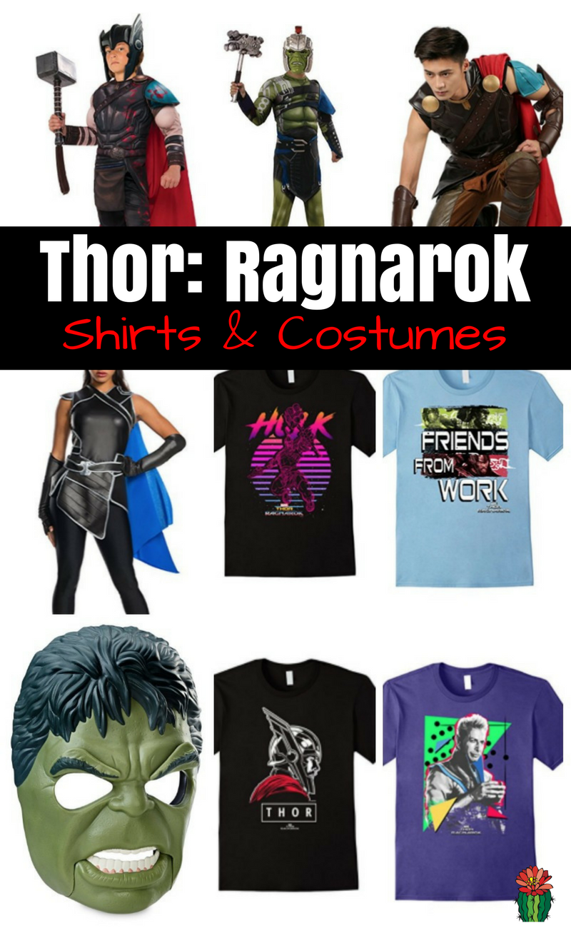 Thor Ragnarok Shirts & Costumes