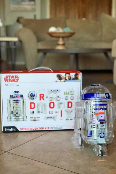 littlebits droid inventor kit r2-d2 unit