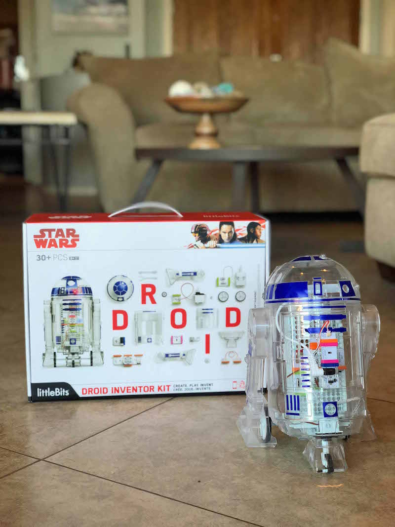 littlebits droid inventor kit r2-d2 unit perfect for Star Wars fans and STEAM lessons at home