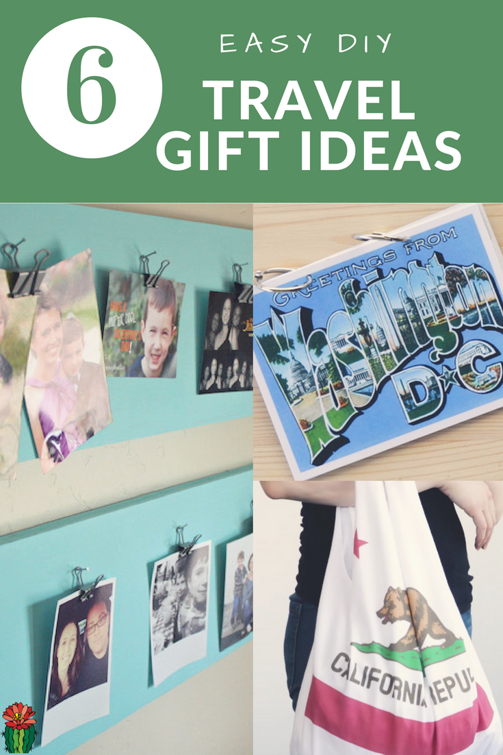 Need a custom gift for the vacation lover in your family? How about making them one of these easy, DIY travel gift ideas!