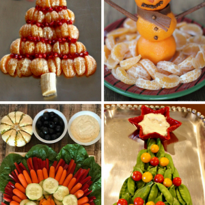 Holiday Fruit Trays   Holiday Veggie Trays