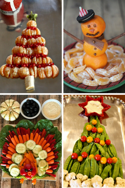 Holiday Fruit Trays | Holiday Veggie Trays