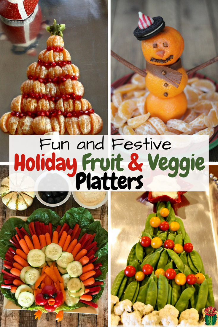 Don't miss this festive collection of holiday fruit trays and holiday veggie trays perfect for any holiday celebrations