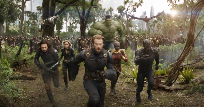 2018 Disney Movie Release Dates - Avengers Infinity War