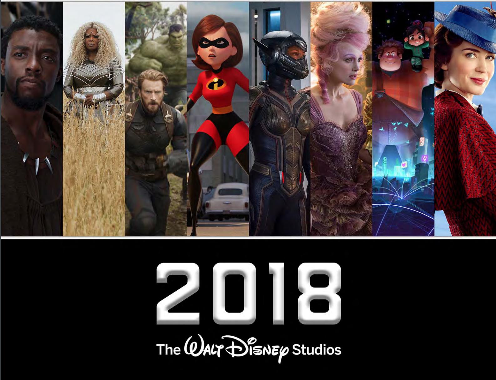 2018 Disney Movie Release Dates