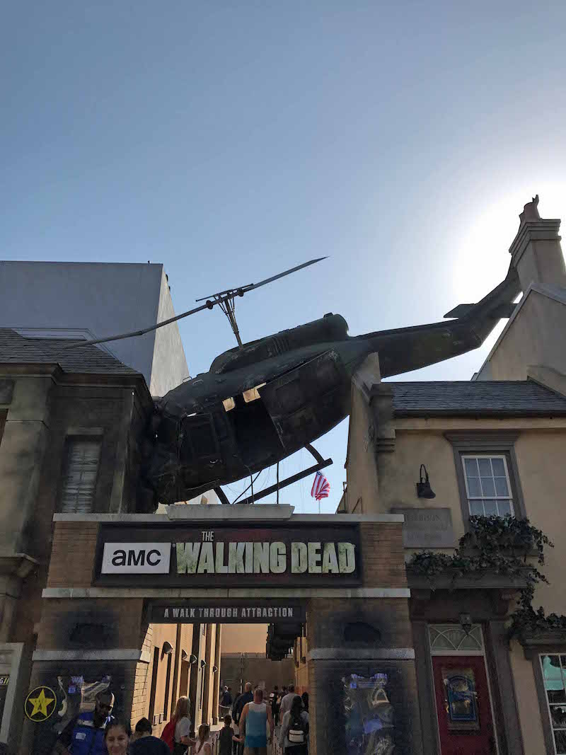 4 Reasons Universal Studio s Hollywood Is Better Than Universal Orlando - AMC The Walking Dead at Universal Studios Hollywood
