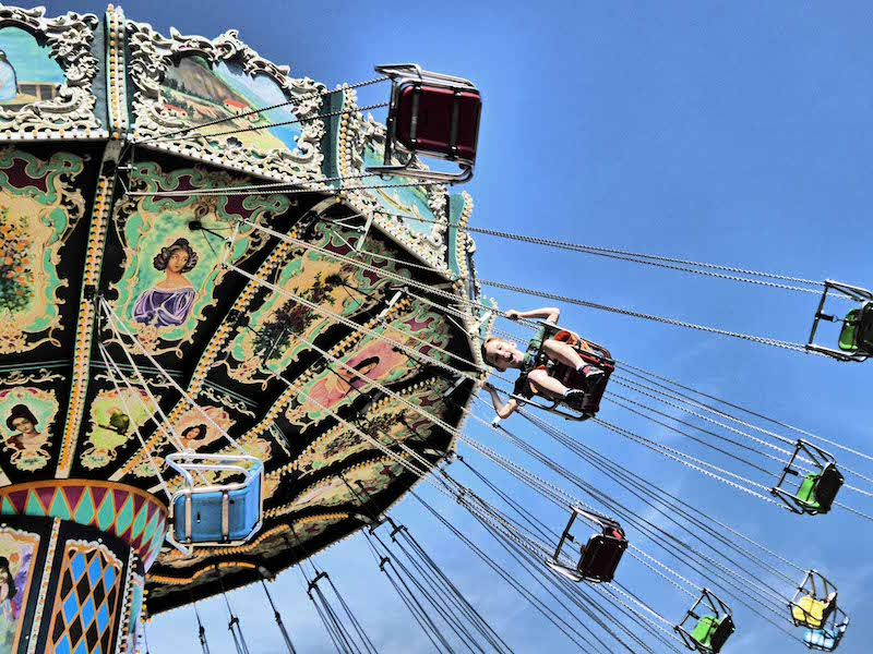 Best Family Activites in Southern California include rides at Knott's Berry Farm in Buena Park