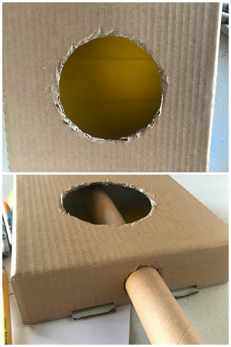 DIY Cardboard Guitar Craft inspired by Disney Coco Craft