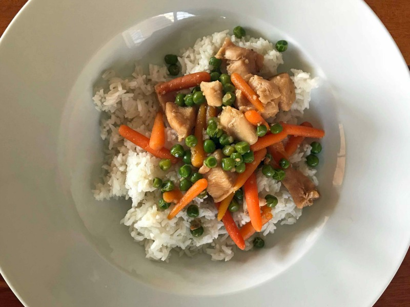 Easy Instant Pot Chicken Stir Fry Recipe Idea for kids