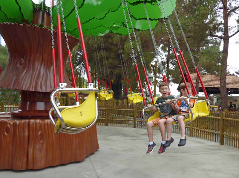 Fun at camp snoopy at Knott's Berry Farm - best family activities in Southern California