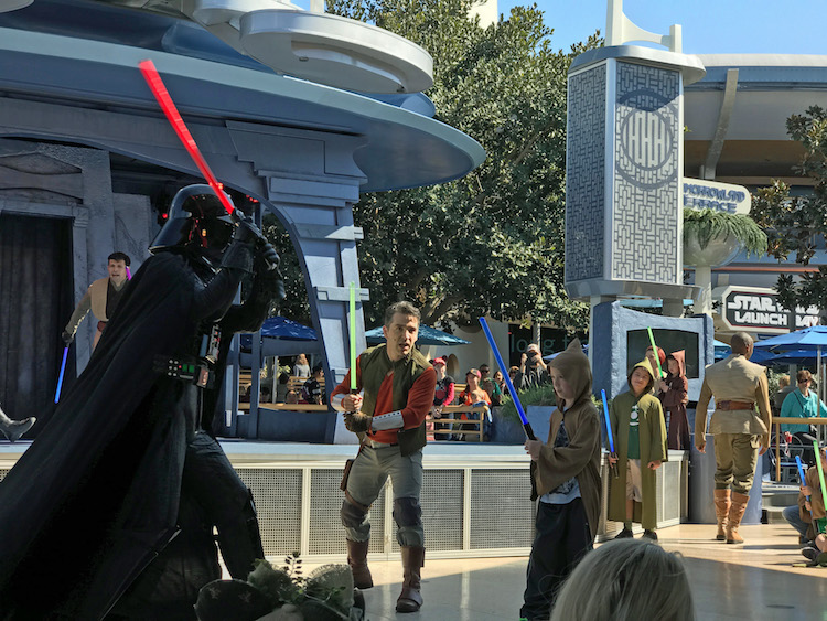 Jedi Training at Disneyland is one of the best family activities in Southern California