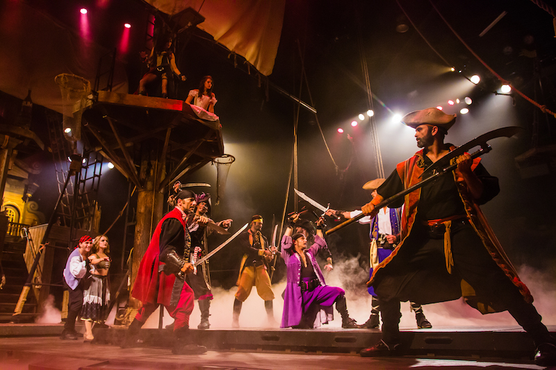 Another thing to do in Southern California with kids is the Pirate's Dinner adventure in Buena Park