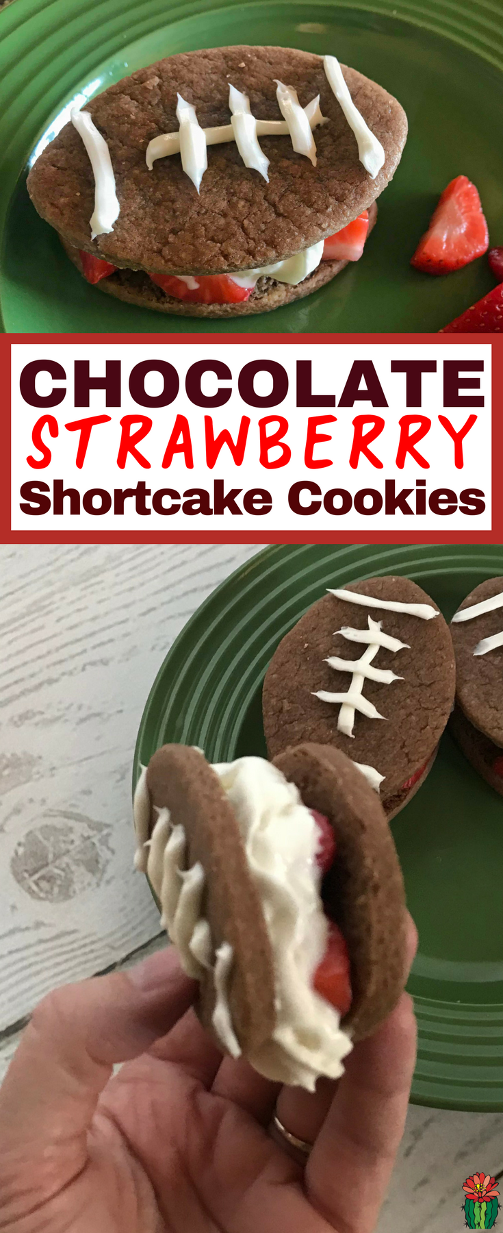 How to make easy Chocolate Strawberry Shortcake Cookie