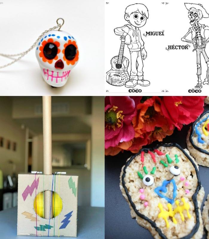 disney pixar u0026 39 s coco crafts  recipes   u0026 activities
