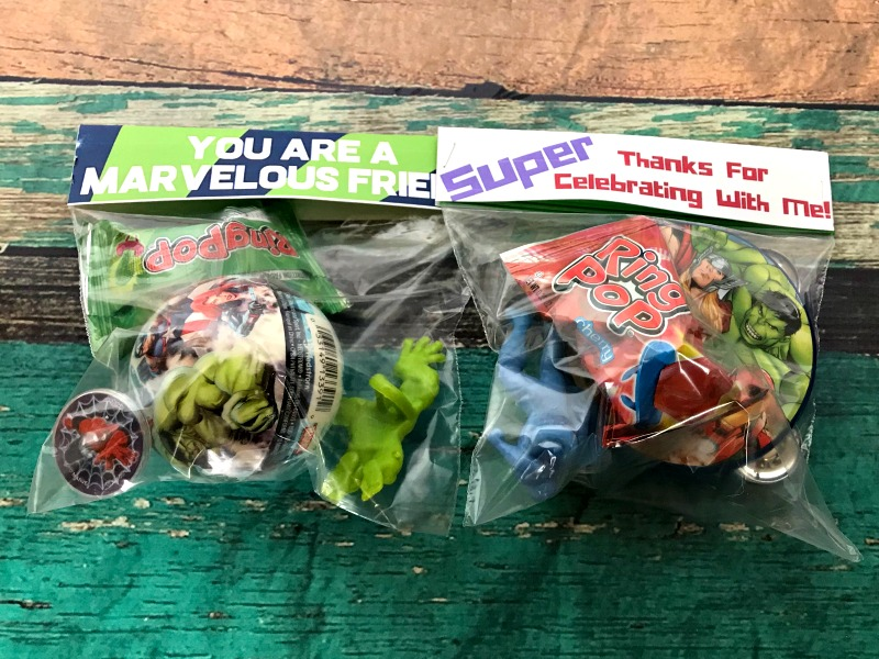 DIY Superhero Goodie Bags