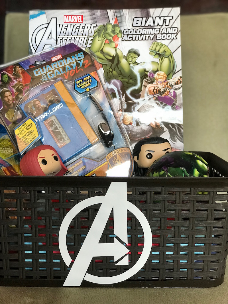 How to make a DIY Avengers Easter Basket for your favorite little hero