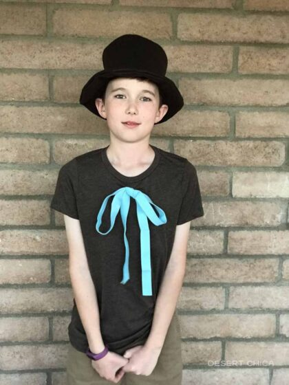 Mr. Brown Costume for Dr. Seuss Day at school