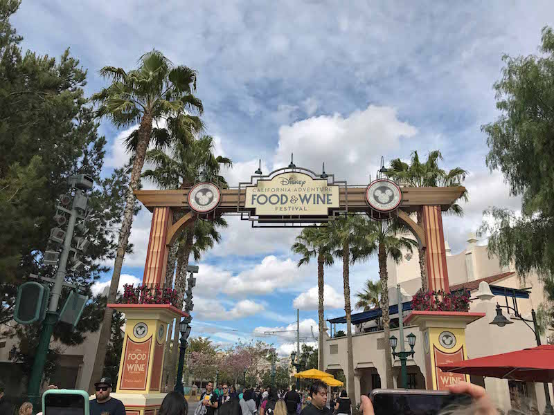 Non-foodies guide to 2018 Disney Food and Wine Festival at Disney California Adventure