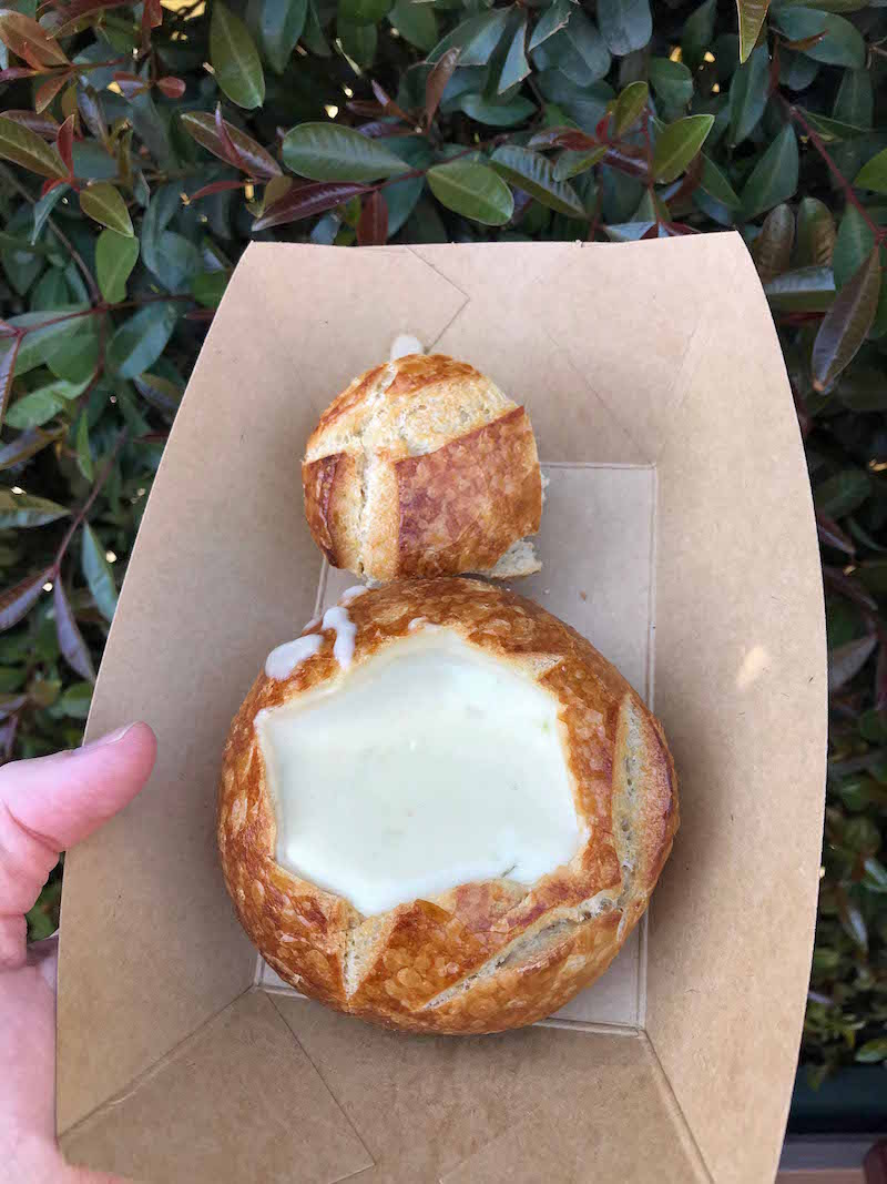 White Cheddar Lager Soup at the 2018 Disneyland Food and Wine Festival