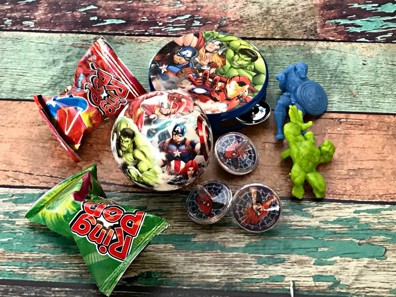 superhero party favor bag ideas