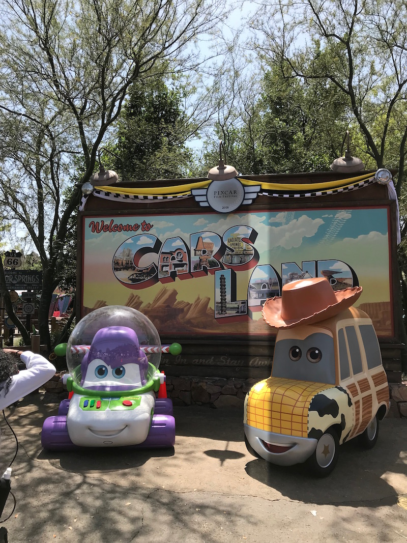 Keep your eyes peeled for fun pixar photo opps on a Pixar Fest Scavenger Hunt at Disneyland