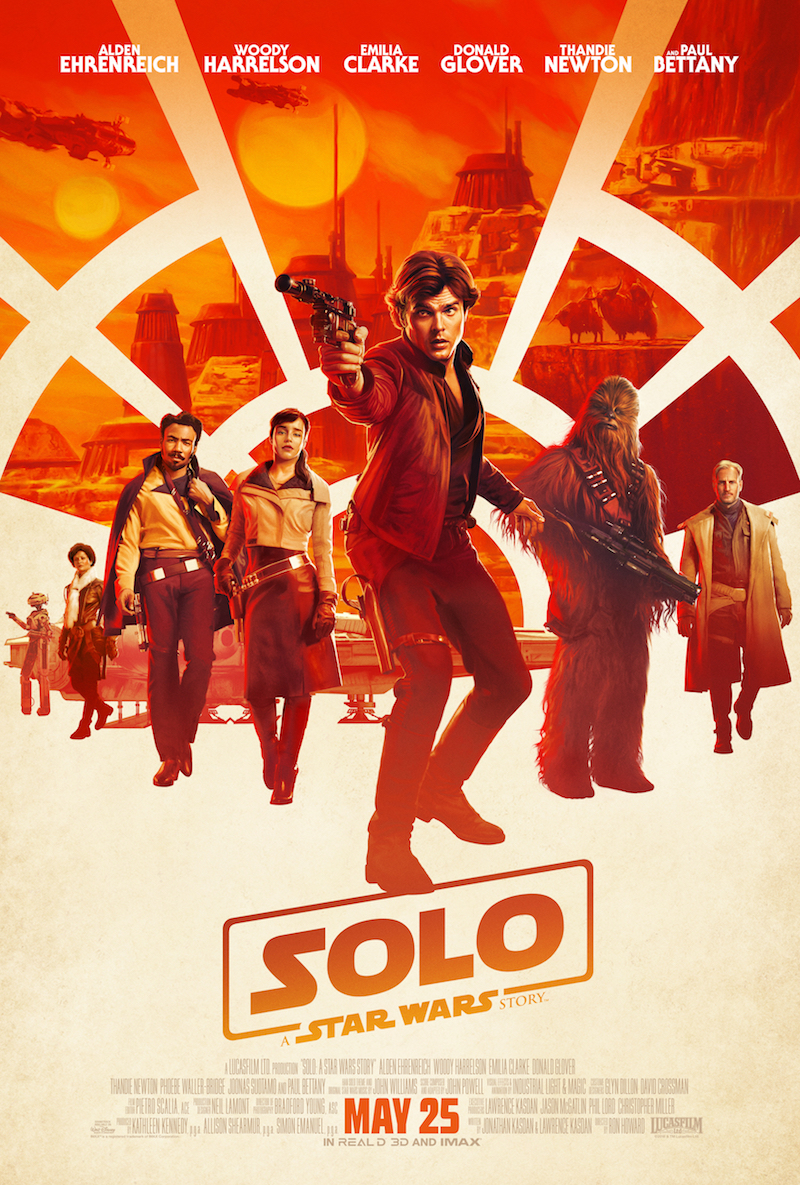 Han Solo Star Wars Story Movie Poster