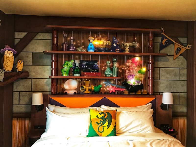 Magic Wizard Room at LEGOLAND Castle Hotel