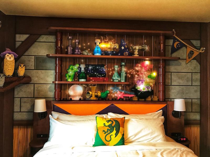 Magic Wizard Room at LEGOLAND Castle Hotel
