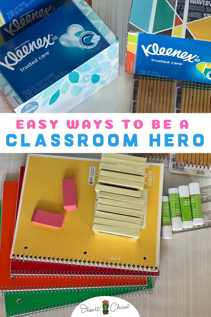 Easy ways to be a classroom hero this school year.