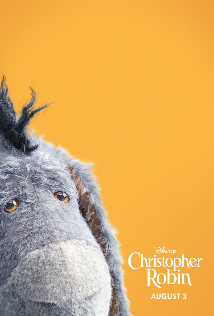 Eeyore Disneybounding at Christopher Robin red carpet