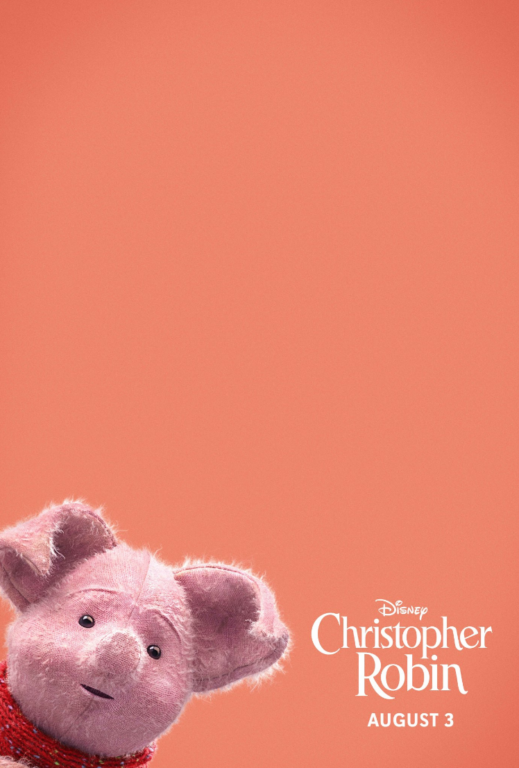 Piglet Disneybounding at Christopher Robin red carpet