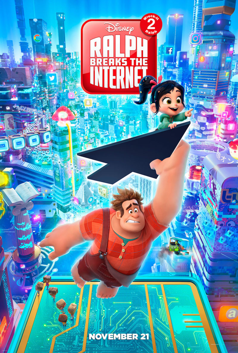 Wreck it Ralph 2 Movie Poster