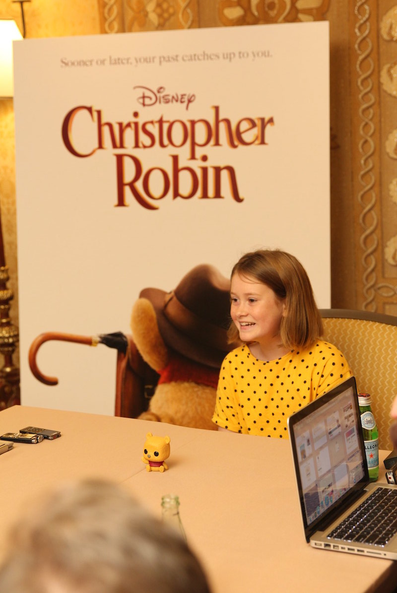 Bronte Carmichael Interview for Christoper Robin Movie