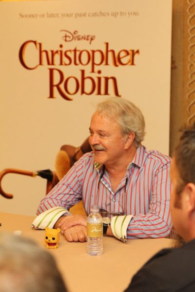 Jim Cummings Interview for Christopher Robin #ChristopherRobinEvent
