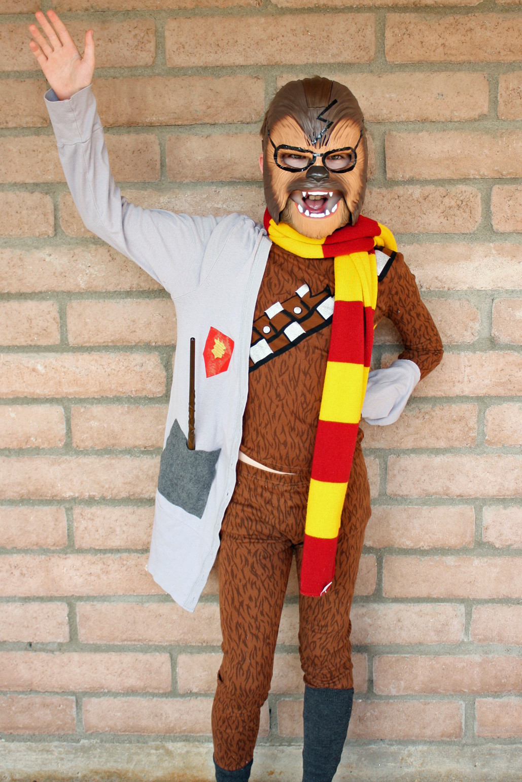 DIY Potterwookie costume included in the The Ultimate list of DIY Halloween Costumes