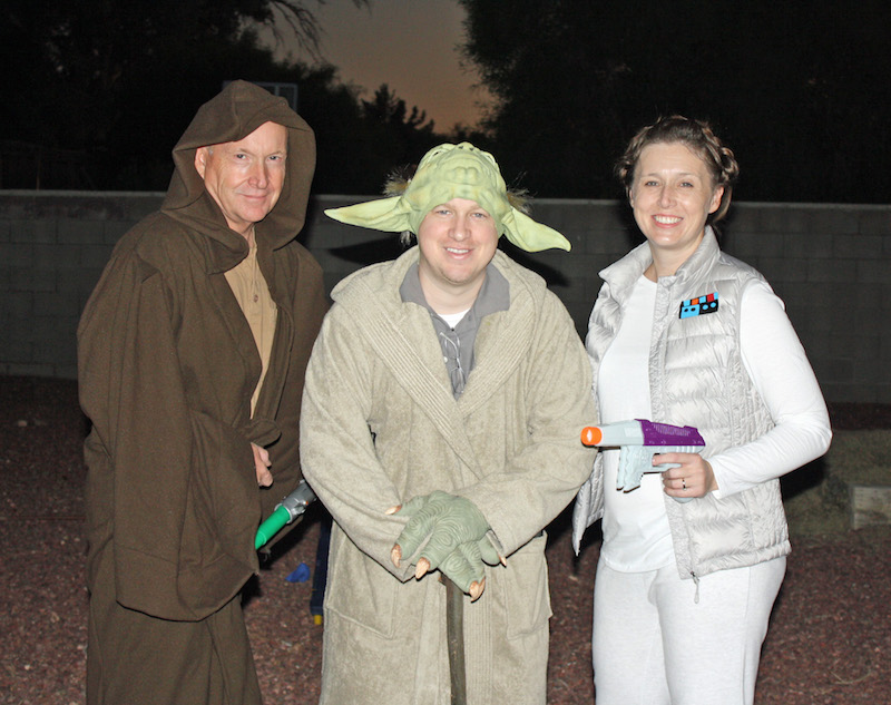 Jedi, Yoda and Princess Leia on Hoth are Star Wars costumes included within the ultimate list of Halloween costume ideas