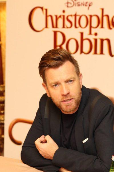 Ewan McGregor Interview for Christopher Robin #ChristopherRobinEvent