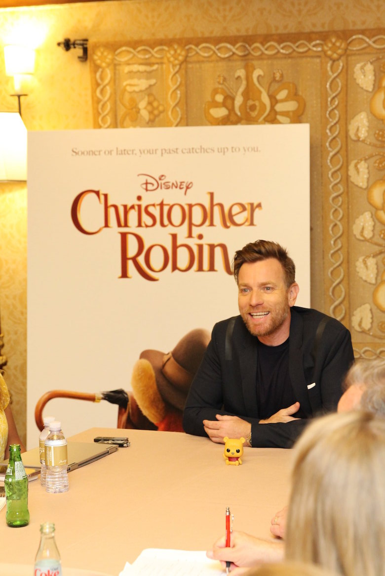 Ewan McGregor Interview for Christopher Robin