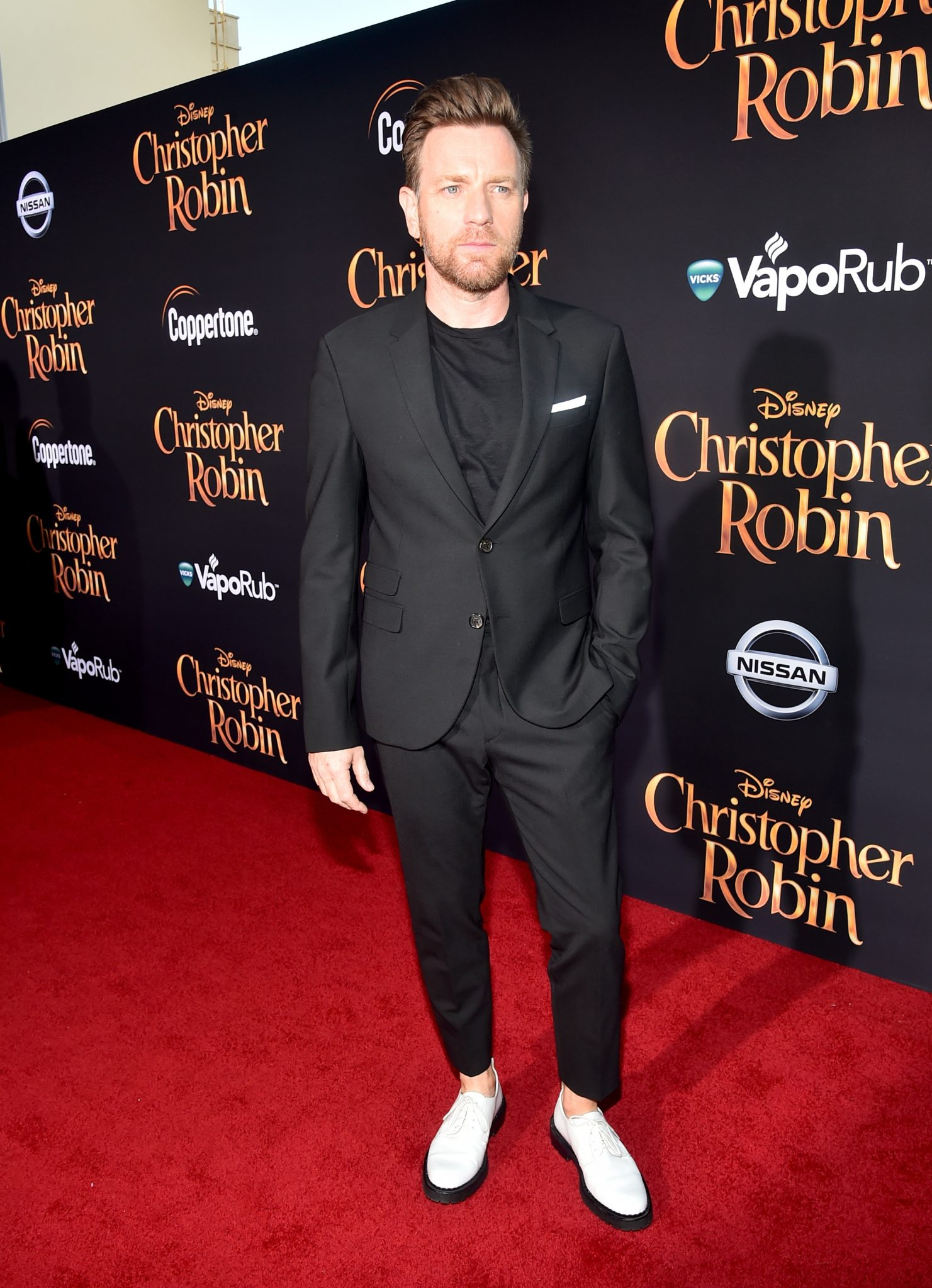 Ewan McGreegor at the Christopher Robin World Premiere
