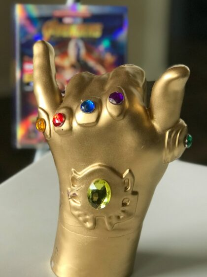 Make your own Thanos Infinity Gauntlet at Madame Tussauds Hollywood