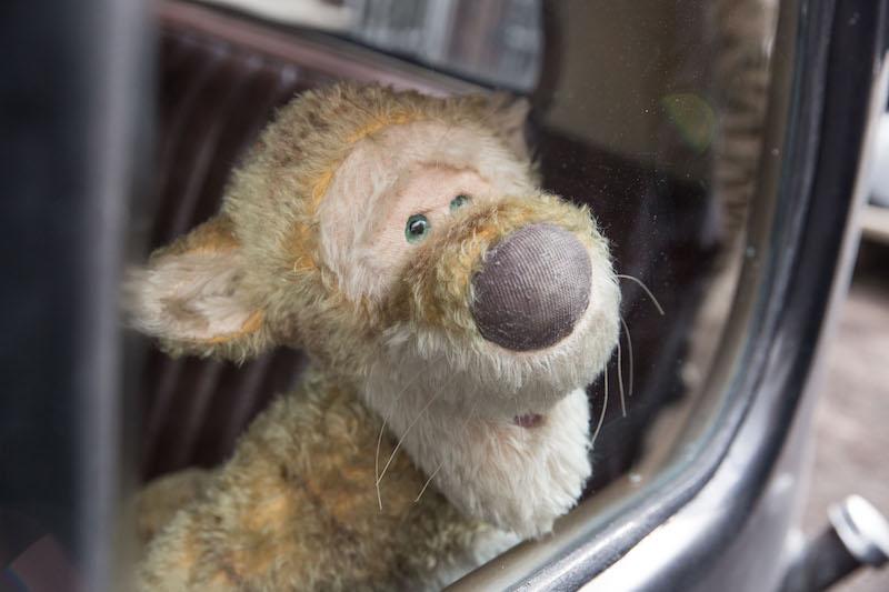 Tigger in Disney's CHRISTOPHER ROBIN.