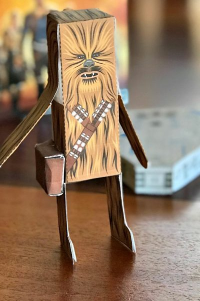 Celebrate Solo with Star Wars Paper Crafts