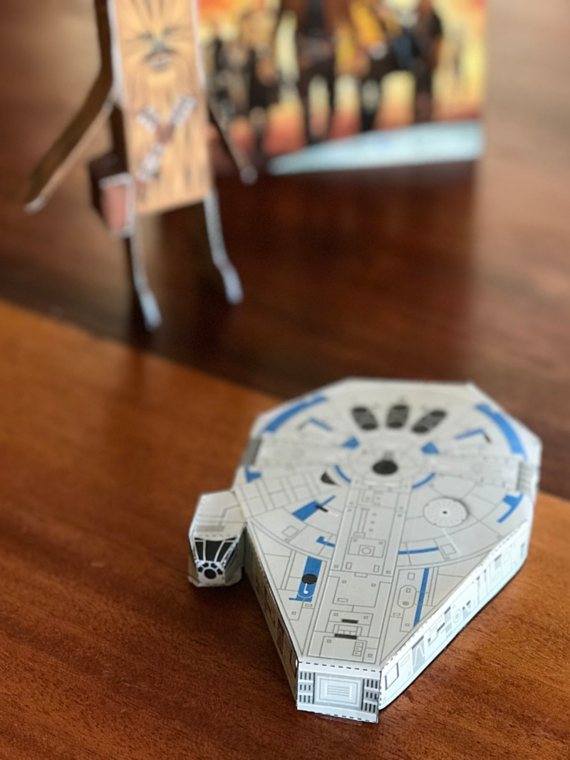 Star Wars Papercraft Millennium Falcon