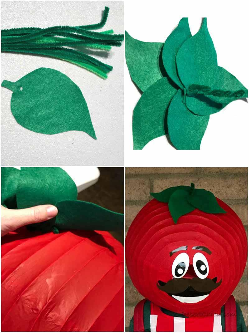Tomato Head Fortnite Costume Mask Details