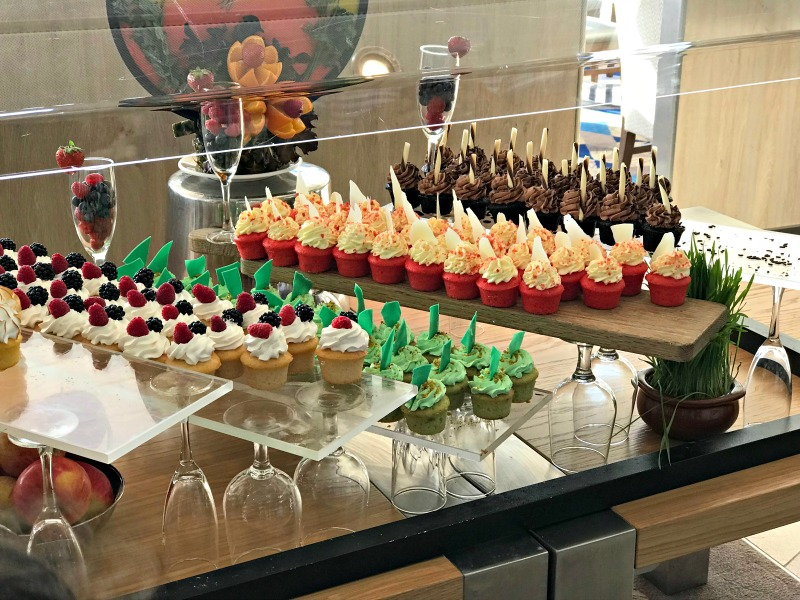 All the desserts on Royal Caribbean Symphony of the Seas cruise ship. It is one of the amazing tween friendly activities aboard the largest cruise ship in the world.
