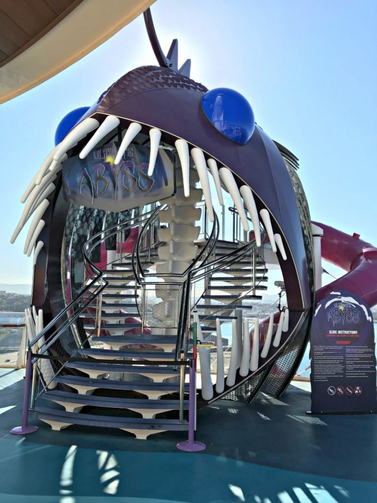 Ultimate Abyss on Royal Caribbean Symphony of the Seas cruise ship. It is one of the amazing tween friendly activities aboard the largest cruise ship in the world.
