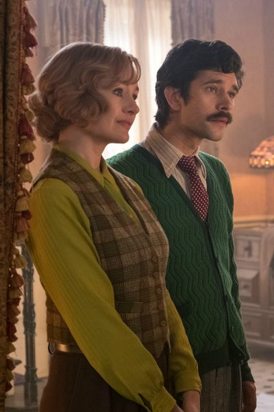 Jane and Michael Banks all grown up in Mary Poppins Returns