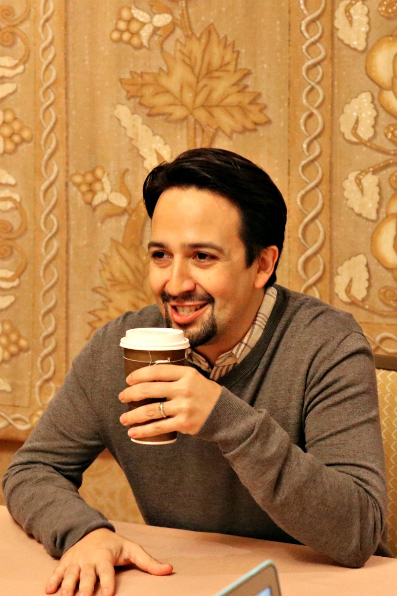 Lin Manuel Miranda Interview for Mary Poppins Returns