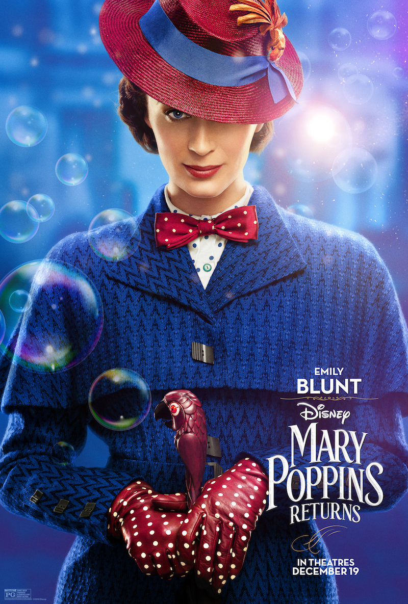 Mary Poppins Returns Character Poster