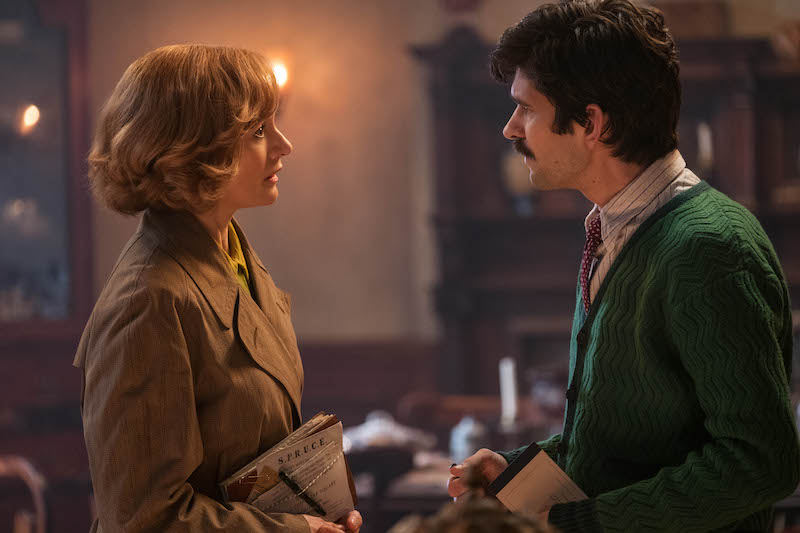 Michael and Jane Banks grown up in Mary Poppins Returns